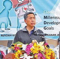 Menteri Kesihatan, Yang Berhormat Pehin Dato Seri Setia Awang Haji Adanan