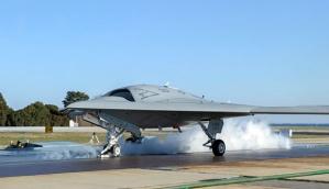 Pesawat tanpa awak Northrop Grumman X-47B.