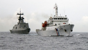 Kapal Angkatan Laut dan penjaga pantai Taiwan