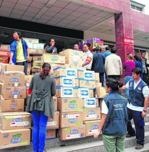 Sejauh ini, Mercy Relief telah mengagihkan bantuan bernilai $65,000 kepada mangsa gempa di wilayah Sichuan, China.