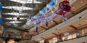 Pondok Indah Mall didatangi 20.000 kendaraan roda empat saat akhir pekan.