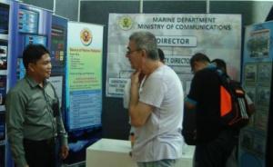 Jabatan Marin adalah antara sektor kerajaan yang menyertai pameran Hari Lautan Sedunia.