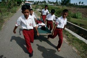 70SimulasiGempa dan tsunami di Aceh-SH-Junaidi Hanafiah