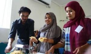 Pelatihan kewirausahaan di Unida, Bogor.