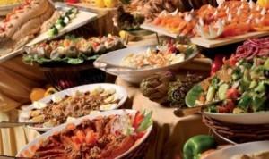 Sajian kuliner Turki di Cafe Bogor, Hotel Borobudur