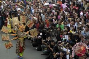 Pawai Budaya Nusantara 2013 digelar di Jakarta, Minggu (18/8)