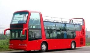 Bus tingkat untuk wisata kota.