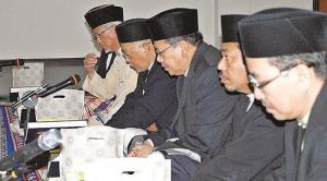Yang Berhormat Pehin Dr Ustaz Haji Awang Yahya hadir selaku tetamu kehormat