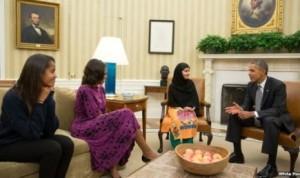 Obama temui Malala