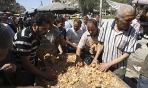 Warga Suriah kelaparan