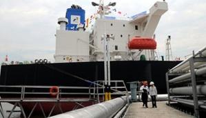 Kapal pengangkut minyak mentah milik Pertamina MT Gunung Geulis