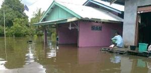 Banjir di Kalimantan Barat