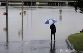 Hujan deras berakibat banjir