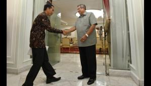 Joko Widodo (Jokowi) bertemu Presiden Susilo Bambang Yudhoyono (SBY)