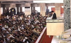 Khotib Jumat di Masjid Istiqlal