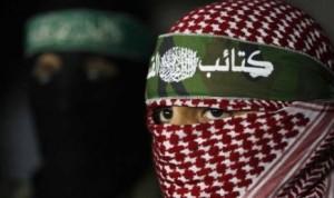 Anggota Brigade al-Qassam, sayap militer Hamas.