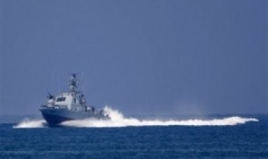 Kapal angkatan laut Israel